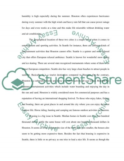 Comparison and contrast essay essay example