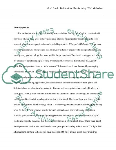 hancock manufactoring technology essay example Several science and engineering colleges expect students to submit a technology essay these kinds of tasks help the university or college evaluators understand the.