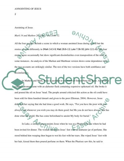 Exegetical Project essay example