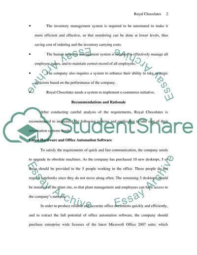 royal chocolate essay example  topics and well written essays  read textpreview