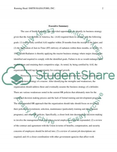 Truth Essay Smith Radiators Case Study Buy Cheap Essays Online also How To Write Expository Essay Smith Radiators Case Study Essay Example  Topics And Well Written  Good Informative Essay Topics For College Students