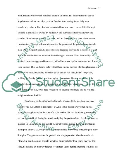 compare and contrast the ideas background and philosophies of essay compare and contrast the ideas background and philosophies of confucius and buddha essay example