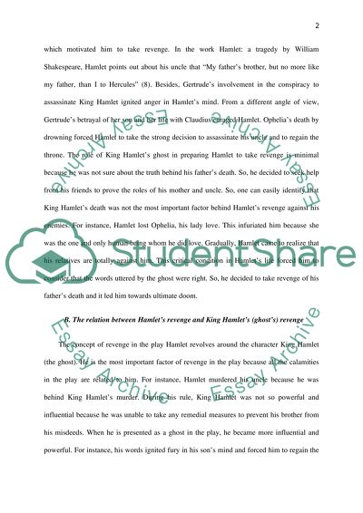Hamlet By William Shakespeare Essay Example  Topics And Well  Hamlet By William Shakespeare Argumentative Essay Thesis Example also How To Write A Good English Essay  Cheap Custom Writing Service