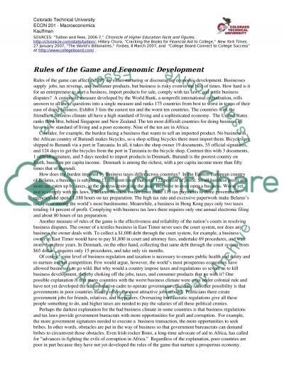 Macroeconomics, read the attached case study (s) and respond to the questions essay example