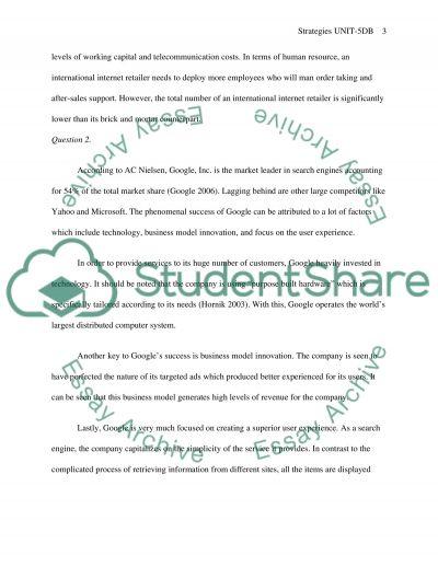 Strategies Unit-5DB essay example