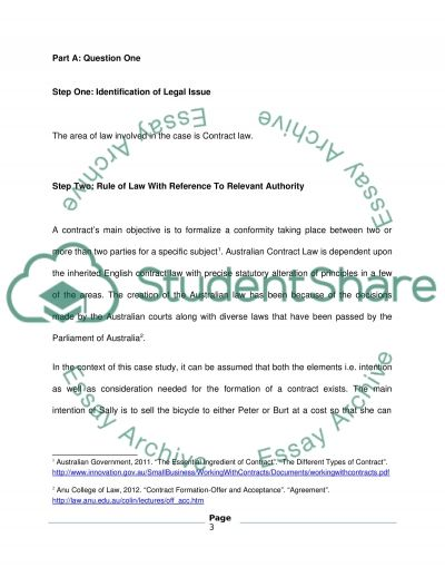 business law 3 essay