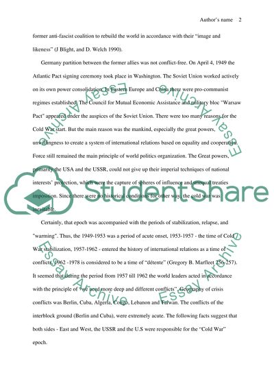 How To Write A Thesis For A Narrative Essay Evaluate The Causes Consequences And Lessons From The Cuban Missile Crisis Universal Health Care Essay also Apa Format For Essay Paper Evaluate The Causes Consequences And Lessons From The Cuban Missile  Where Can I Buy School Projects