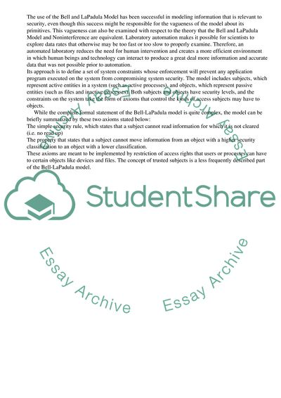 Laboratory Information Management Systems Essay