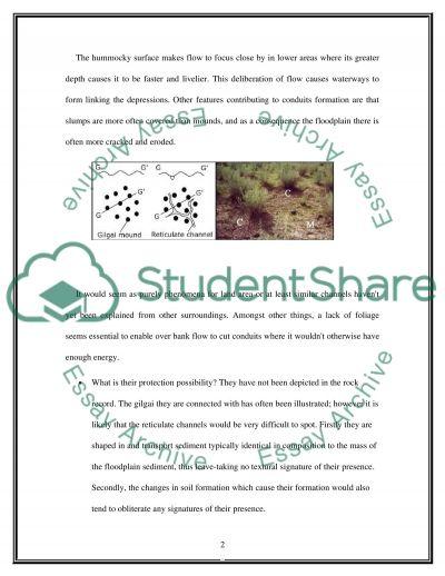 Water Balance. Sediment Yield essay example
