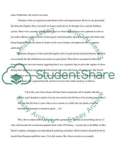 Essay On Importance Of Good Health Antislavely In Uncle Toms Cabin Essay On Science And Society also Research Essay Papers Antislavely In Uncle Toms Cabin Essay Example  Topics And Well  Health Needs Assessment Essay