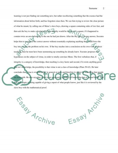 Some Philosophy Questions essay example