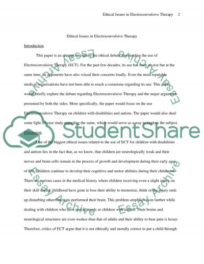 shell and ethical issues essay example This paper will review the assigned case study and provide the reader with the ethical issues and principles the facts in the case study provide for an excellent example of when paternalism should be exercised a custom essay sample on ethics case study.