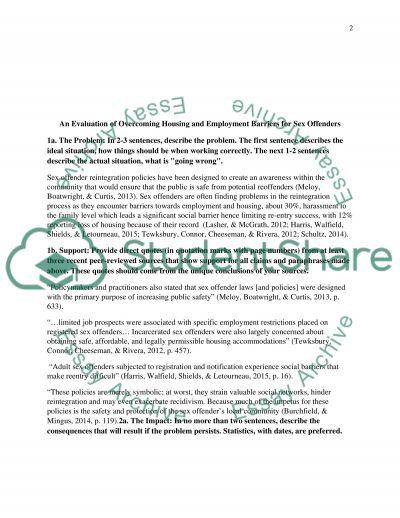 Dissertation Problem Statement Template