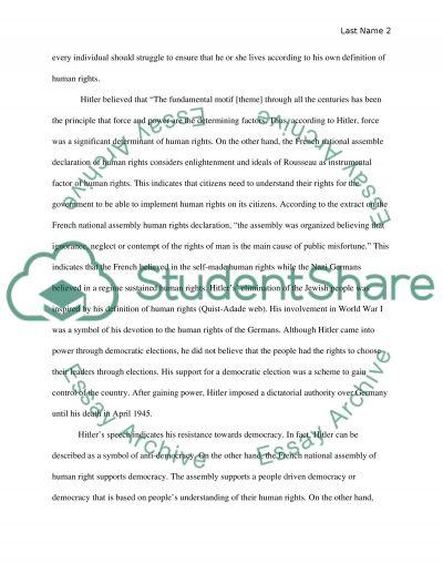 human rights according to adolf hitler essay example topics and human rights according to adolf hitler essay example