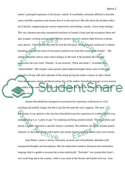 Travel and tourism essays