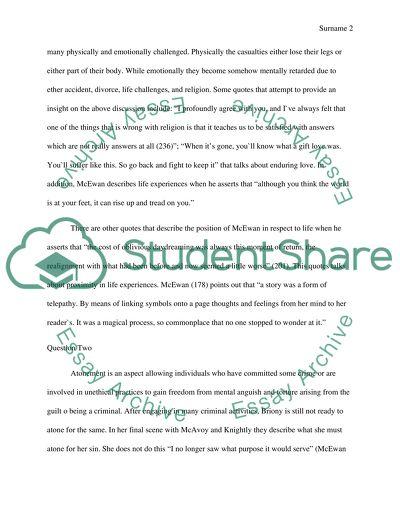 Lockes an essay concerning human understanding