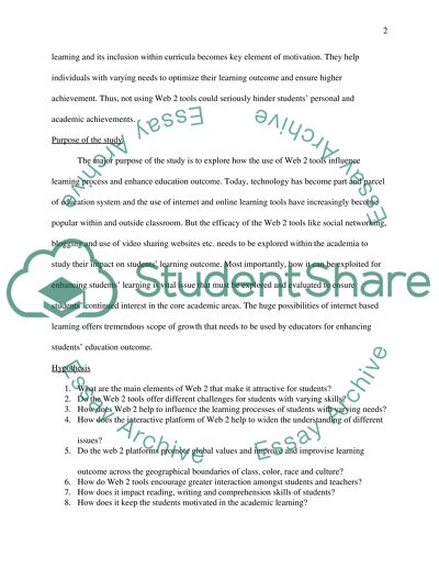 My English Essay Web  Technology And Education Example Of A Proposal Essay also Essay For English Language Web  Technology And Education Essay Example  Topics And Well  Essay Writing Paper