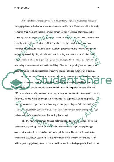 Contribution essays