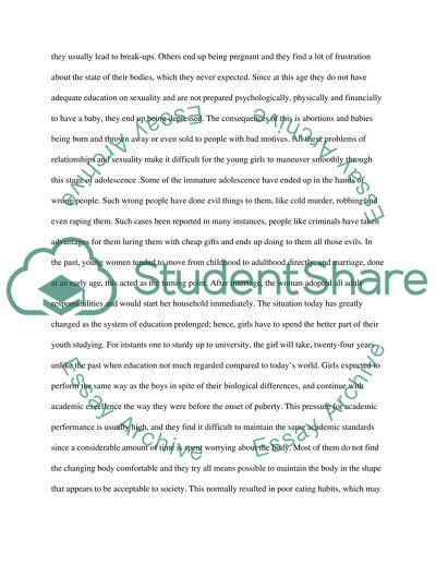 Edit the essay
