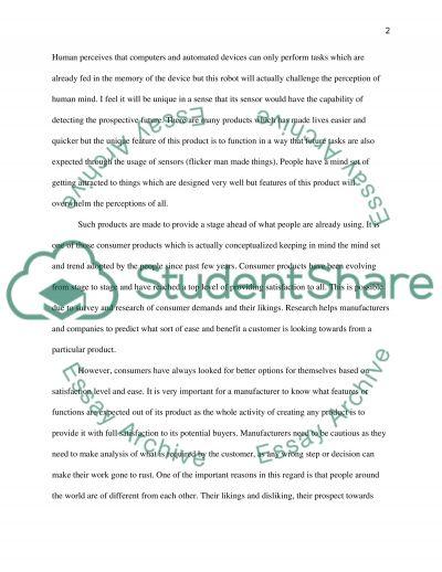 Consumer Perception essay example