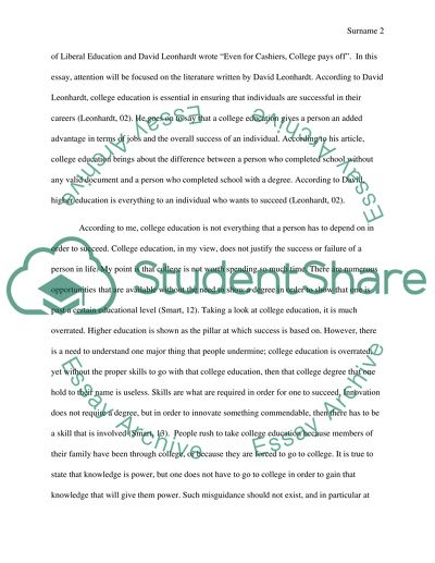 Essay For English Language  Thesis Essay also Thesis For An Essay Persuasivehigher Education Essay Example  Topics And Well  Compare Contrast Essay Examples High School
