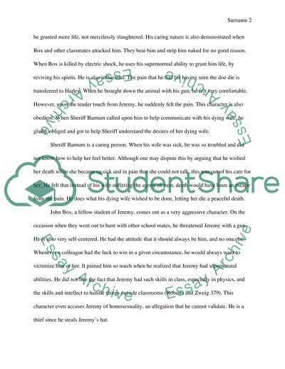 Essay on Powder Story