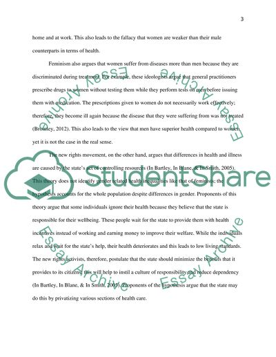 health inequalties essay example  topics and well written