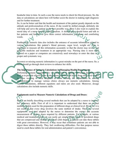 Nursing-introduction to personal & professional development essay example