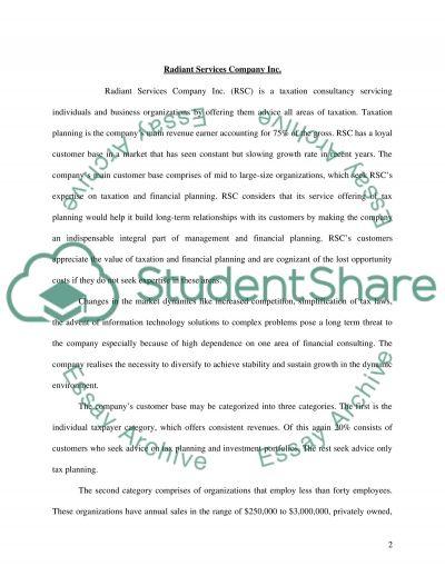 Strategic Marketing Plan Master Essay essay example