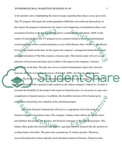 entrepreneurial marketing business plan essay example topics and