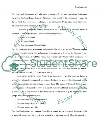 finding reality in sherlock holmes detective stories research paper finding reality in sherlock holmes detective stories essay example
