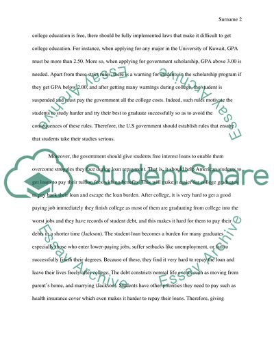 Thesis statement on student loans book review writing service us