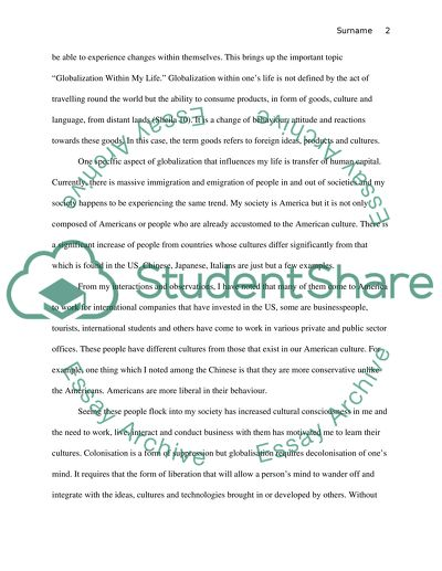 Formal Writing Assignment 3