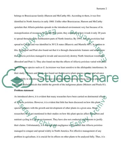 Biology research paper