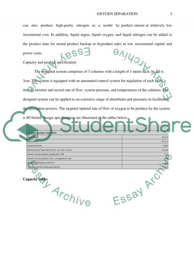 Design of one Operation Unit essay example
