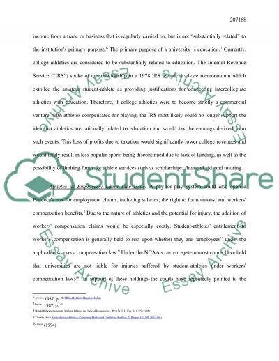 Debate notes essay example