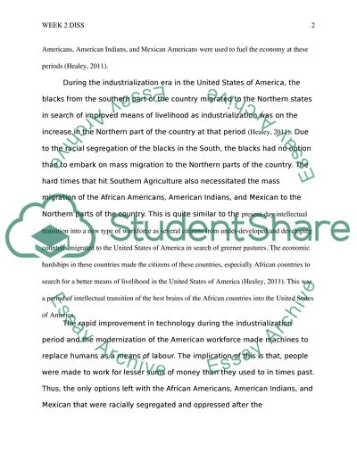 Essay Paper Week  Diss  Across The World Industrial History Repeats Itself Thesis For Essay also Examples Of Argumentative Thesis Statements For Essays Week  Diss  Across The World Industrial History Repeats Itself Essay Essay Vs Research Paper