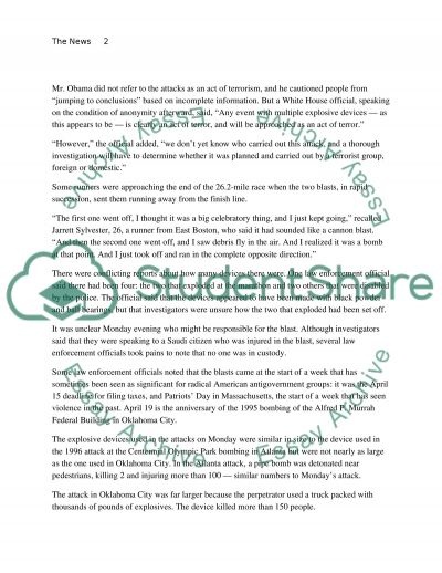 Assignment 6 Admission Essay example
