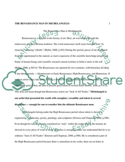 Exemplification Essay Thesis The Renaissance Man In Michelangelo  Essay Example Argumentative Essay On Health Care Reform also Sample Of English Essay The Renaissance Man In Michelangelo Essay Example  Topics And Well  Essays On English Literature