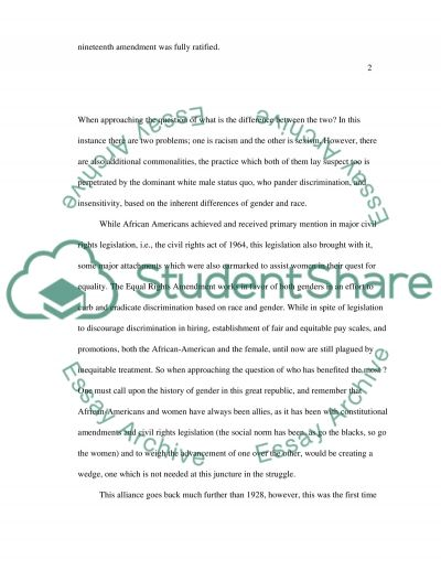 Civil rights essay topics