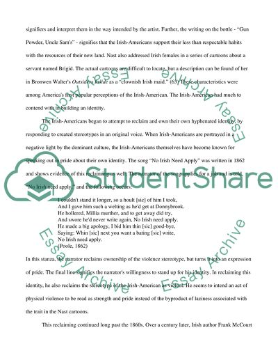 Hyphenated American Position Paper