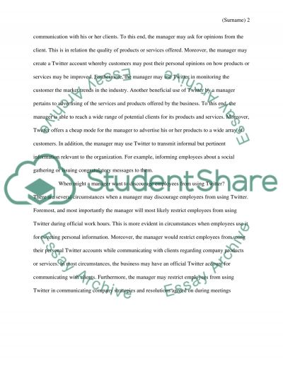 What are Twitters advantages essay example