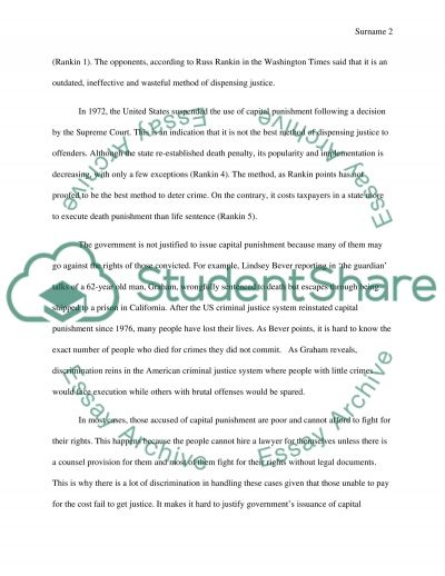 crime and punishment in various countries essay Essays related to crime and punishment essay 1 crime and punishment the of punishment in countries today it has been used for various crimes.