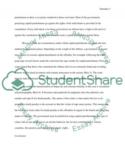 Is violence ever justified essay