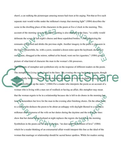 Explication essay poetry 464362