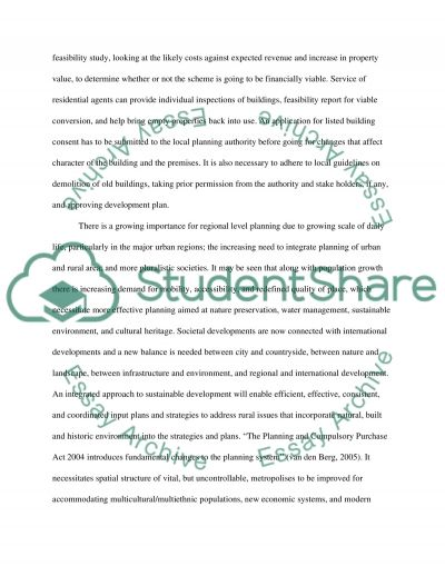 Philosophy, theory and ethics in property essay example