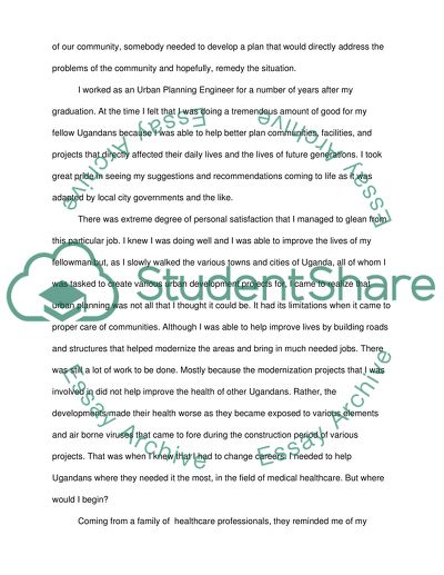 Goal Statement Essay