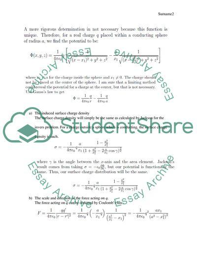 Solving problem of elctrodynamic
