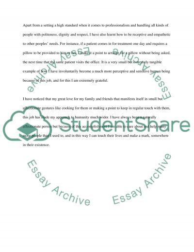 personal accomplishment admission application essay personal accomplishment essay example