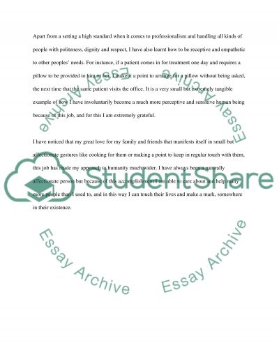 talent, experience, contribution or personal quality essay College essay/personal statement  prompt #2 tell us about a personal quality, talent, accomplishment, contribution, or experience that is important to you what.